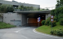 Tunnel to go up to Montjuic Barcelona.jpg