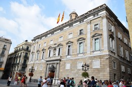 Placa Sant Jaume Pictures