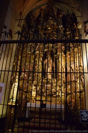 Saint Francis Xavier Shrine within Barcelona Cathedral.jpg
