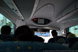 Inside Royal Caribbean Excursion Bus in Barcelona.jpg