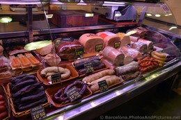 Various Spanish Hams & Sausages for Sale @ La Boqueria.jpg