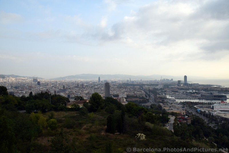 Western Barcelona Skyline photo seen from Montjuic hill.jpg