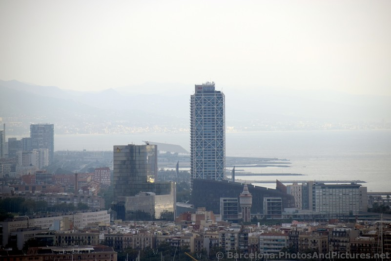 Mapfre Building & Hotel Arts Barcelona in Skyline photo.jpg